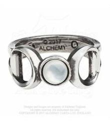 R219 Triple Goddess ring