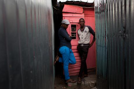 thumbnail for Siyabonga Dike, 20 years old (left)- Langa, Cape Town
