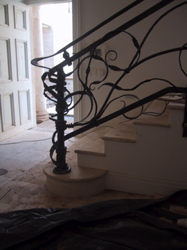 Private commission: Balustrade