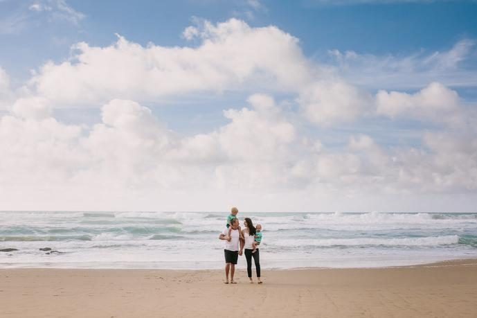 thumbnail for Creative Family Holiday Photos in Mosel Bay South Africa.