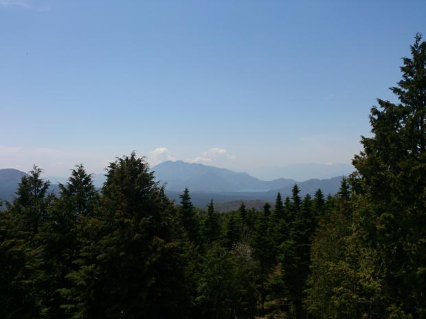 Top of Ashiwada peak