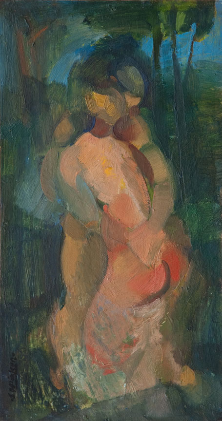 Stanley Pinker: The Embrace - SOLD