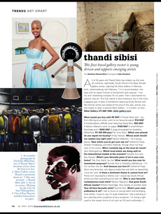 Thandi Sibisi - Gallery Owner, Sibisi Gallery, Johannesburg