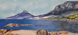 Yvette Polovin    ooh! Oudekraal..    acrylic on canvas    400x880    R4000