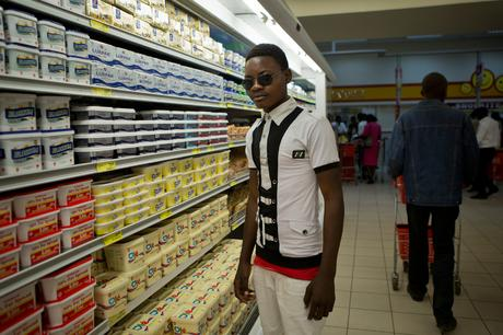 thumbnail for Nelson Phiri, 20, driving school instructor. - Shoprite, Cairo Road, Lusaka, Zambia