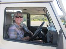 Pat had driven her trusted Landy to Mozambique and back numerous times