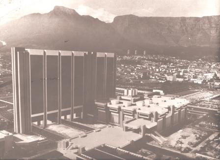 Cape Town CIVIC CENTER model by T Geh