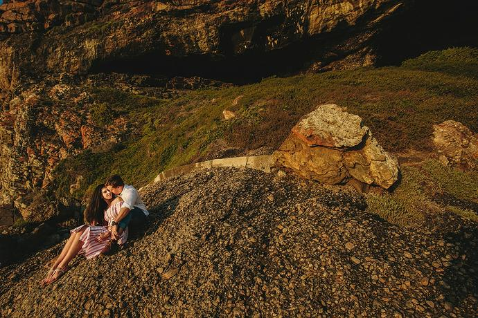 Plettenberg Bay Couple Portraits - FG & Dedré