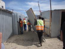 The Mtshini Wam community building team at work