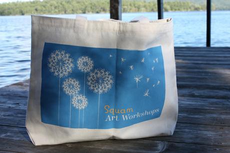 thumbnail for Bag for Squam Art Workshops 2009