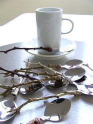 1. ACACIA TWIG TEA+MOCHA SPOONS