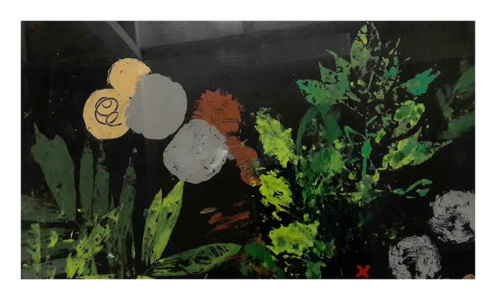Luise Swiel     Money  Matters     Acrylic    75 X 50cm     R2800