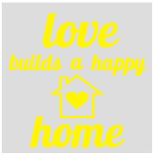 thumbnail for Love builds a happy home