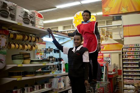 thumbnail for Pamela Chulu, 39, and Irene Mwangala, 22.- Shoprite, Matero Lusaka, Zambia