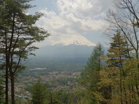 Fuji view from Ashiwada hiking trail