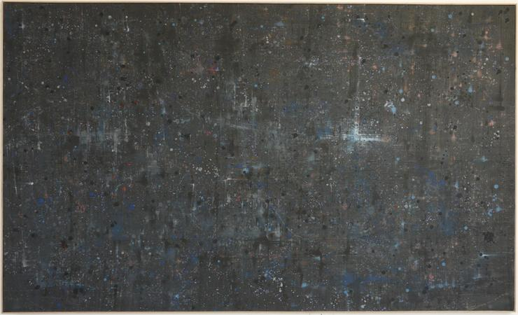 Abstract 9, oil on canvas, 275 x 165 cm, 2010