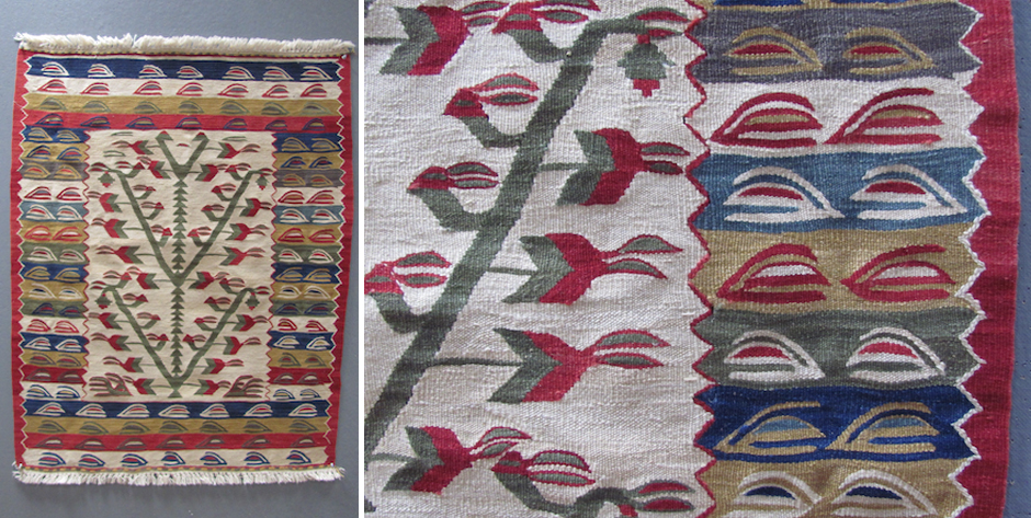 Turkish kilim in the manner of Sarcoy or Chiprovtsy • modern