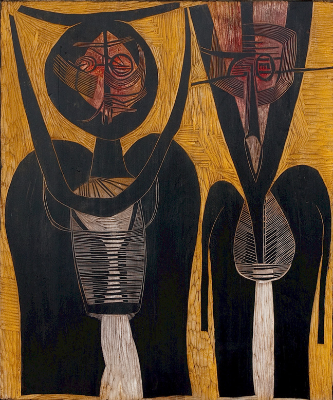Two figures - SOLD