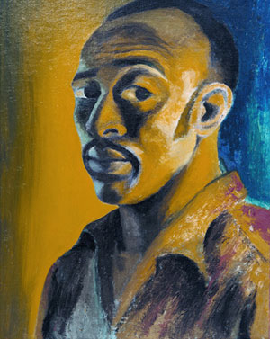 Gerard Sekoto - Self-portrait