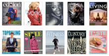 A Selection of Magazine Covers