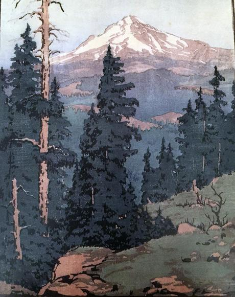 Mt. Hood —print by Norma Bassett Hall