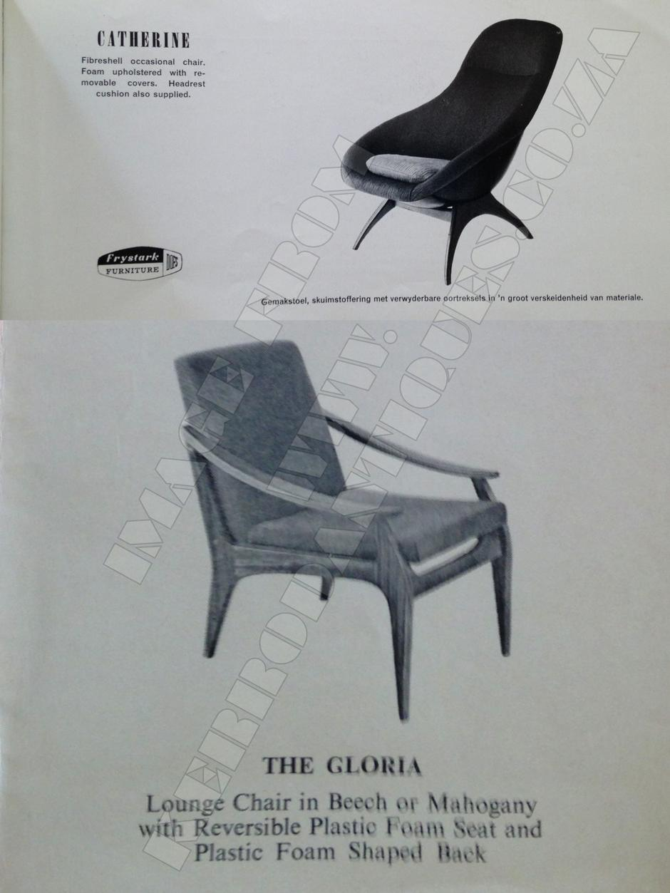 Catherine - Fibershell ocasional chair.